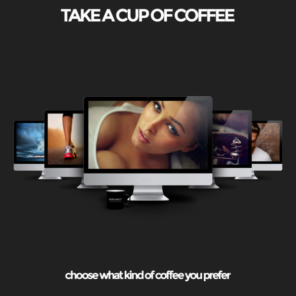 Take a cup of coffee